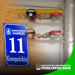 Nowoczesna instalacja ciepłej wody dla mieszkańców bloku przy ul. Konopnickiej 11