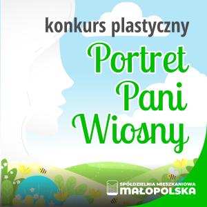 """Konkurs plastyczny ,,Portret Pani Wiosny"""" – zgłoszenia prac do 16 kwietnia"""