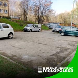 Komunikat w sprawie modernizacji parkingu przy ul. Hallera 4