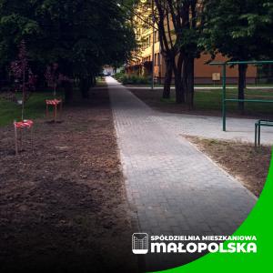 Nowy chodnik na ul. Konopnickiej